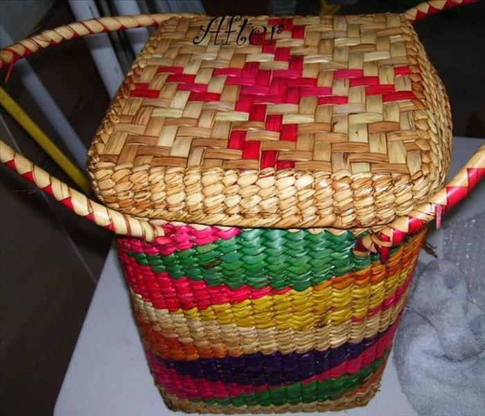 Basket Cleaning After